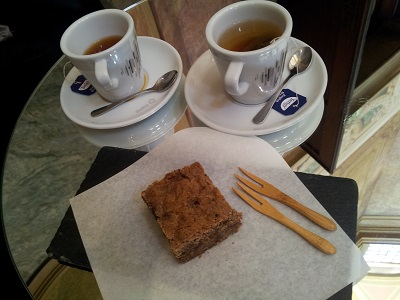 Lisbon beautiful Chiado Palace April 2016 teacupsand small wooden forks