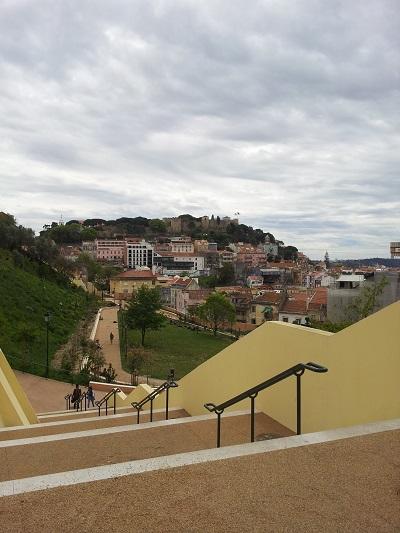 Mouraria Graca Park beautiful city views 7