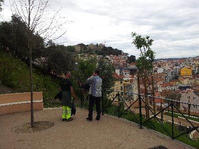 Pedro Rita park Graca Mouraria Lisbon beautiful city viewpoint