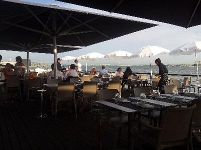 Restaurant Monte Mar Lisbon Tagus river 1 June 16