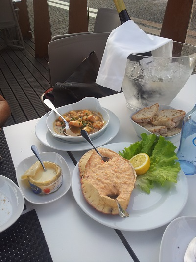 Restaurant Monte Mar Lisbon Tagus river 2 June 2016