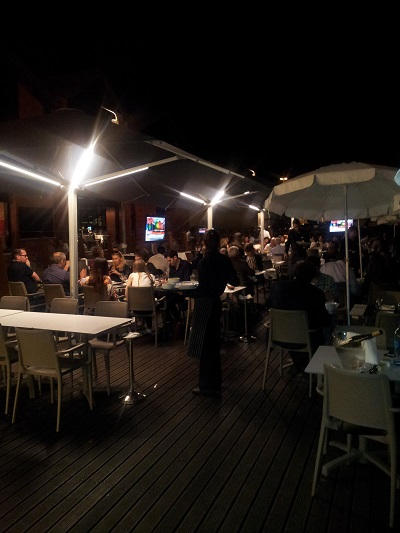 Restaurant Monte Mar Lisbon Tagus river 7 June 2016