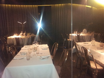 Restaurant Monte Mar Lisbon Tagus river 9 June 2016 inside cold decor