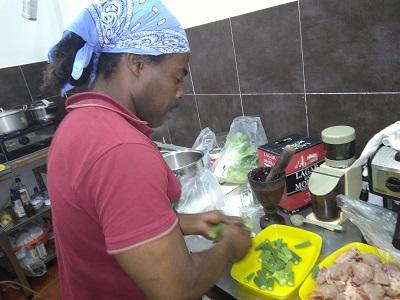 Restaurant Cantinho da Fabi Mouraria Lisbon owner Steve kitchen