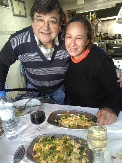 Restaurant Jose Marie & Paula bacalhau a bras January 2017